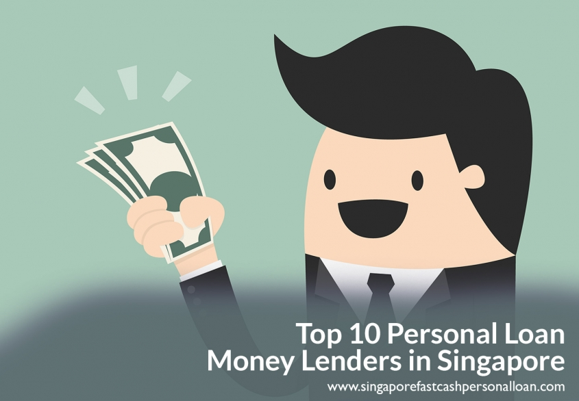 List of Top Personal Loan Licensed Money Lenders in Singapore