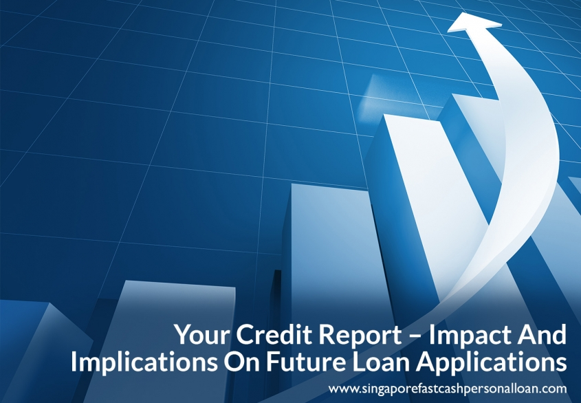Your Credit Report - Impact And Implications On Future Loan Applications in 2018