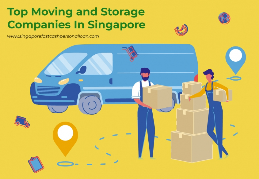 List of Top Moving and Storage Companies in Singapore