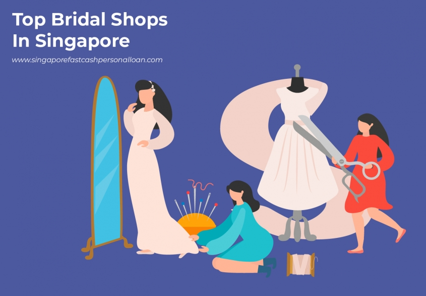 List of Top Bridal Shops in Singapore