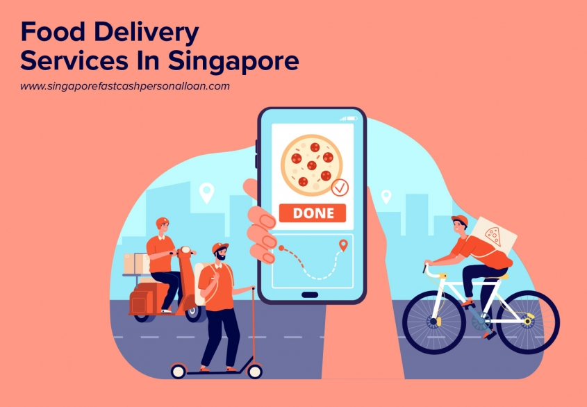 List of Top Food Delivery Services in Singapore