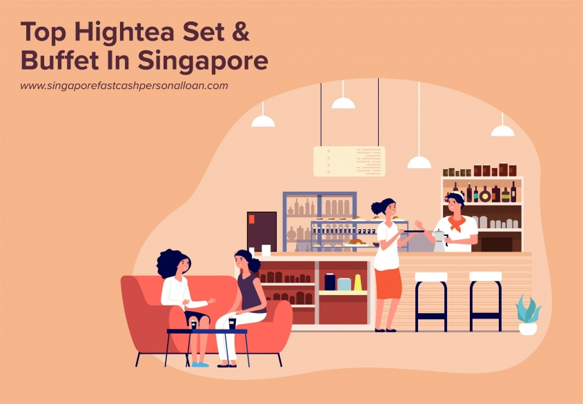 List of Top Hightea Set & Buffet in Singapore