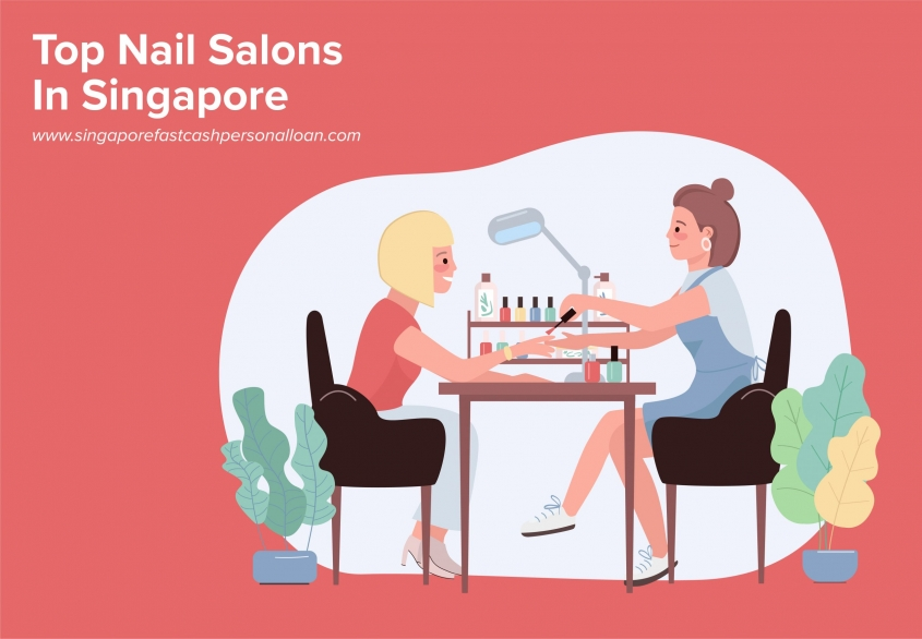 List of Top Nail Salons in Singapore
